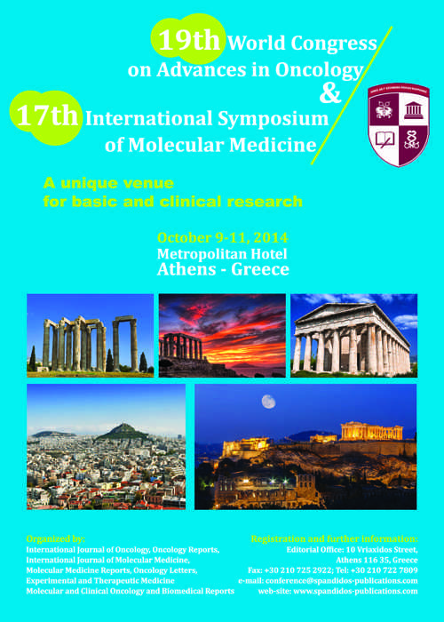 19th World Congress on Advances in Oncology and 17th International Symposium on Molecular Medicine