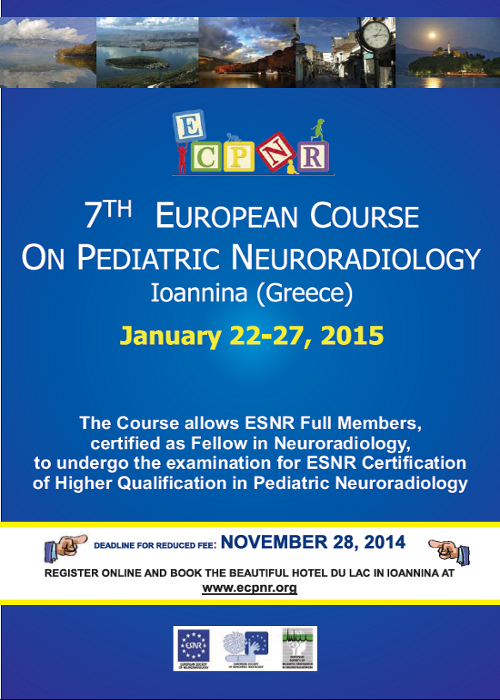 7th European Course on Pediatric Neuroradiology (ECPNR)