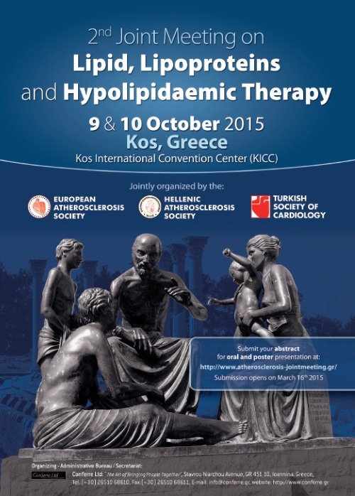 2nd Joint Meeting on: Lipid, Lipoproteins and Hypolipidaemic Therapy
