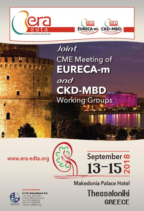 Joint CME Meeting of EURECA-m and CKD-MBD Working Groups